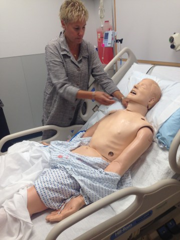 Current patient simulators are advanced, but pulse technology is still unrealistic (Dr. Stephanie Sudikoff,