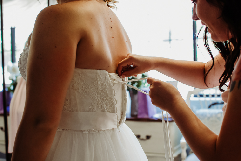 bridal dress details {virginia beach wedding couples family newborn photographer}