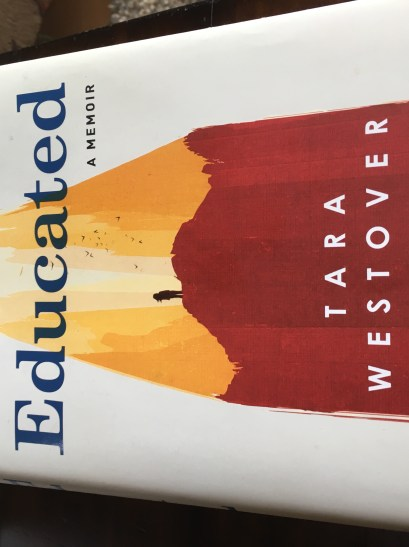 educated book cover by tara westover