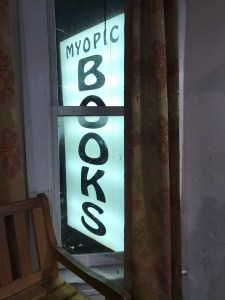 Myopic Books Sign