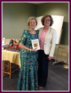Fairfield Library with Program Director Karen Armold