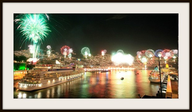 New Year's Eve Fireworks in Madeira