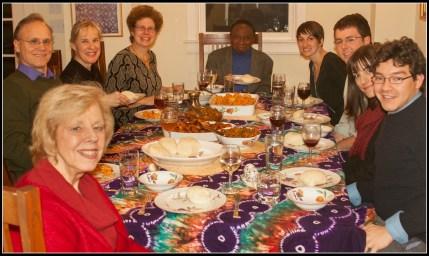Nigerian Dinner