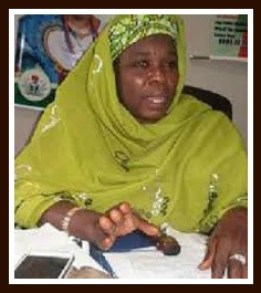 Hajia Talatu Ibrahim, one of the leaders of the women in support of transparency