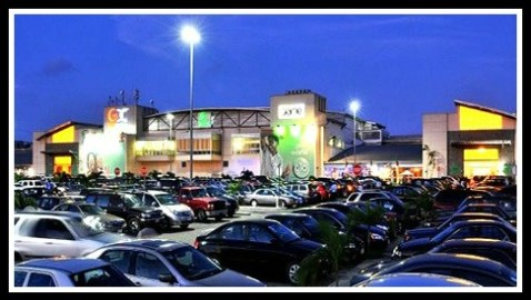 The Palms, the mall near our son Sam's home in Lekki.