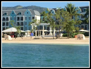 Just a small part of the Sandals Whitehouse Resort