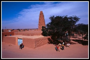 Historic center of Agadez in Niger