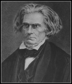 John C. Calhoun's name, still at Yale