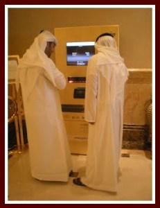 Dubai traditional men's dress