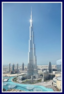 Burj Khalifa, full of diversity like Dubai