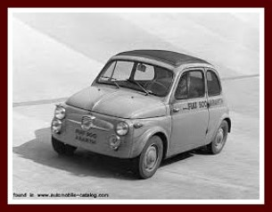 My tiny Fiat was like this one