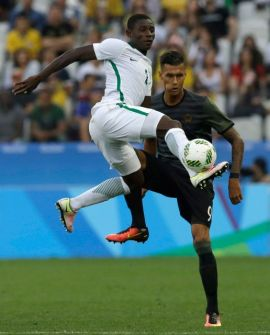 Nigeria Germany Match AP Photo Leo Correa