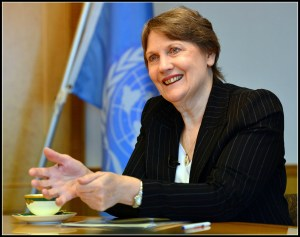 Helen Clark, candidate, and UNDP administrator