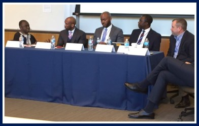 Electricity panel at Wharton Africa Business Conference