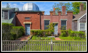 Maria Mitchell Observatory where I practiced astronomy.