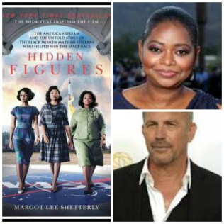 Hidden Figures: book, Actors Octavia Spencer and Kevin Costner