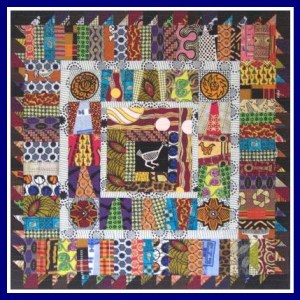 I loved this small quilt that was displayed with Singing Cities concert.