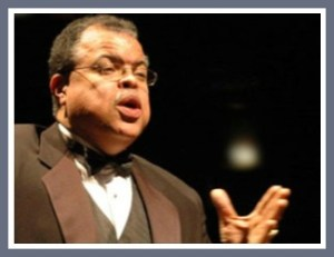 Anton Armstrong conducted first half and more at Singing Cities concert.