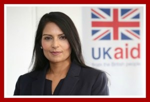 Priti Patel, UK Secretary for International Development