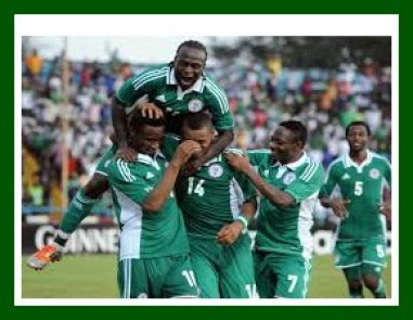 Super Eagles victory photo from Daily Post Nigeria