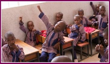 Children at Future Prowess School Maidugari
