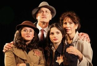 The Frank family in the Diary of Anne Frank at Westport Community Theater