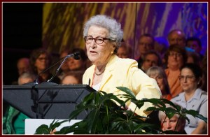 Denny speaking at the UUA General Assembly 2017
