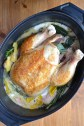 Chicken in milk - Poulet dans le lait