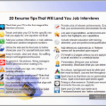 20 CV Tips That Lands Job Interviews