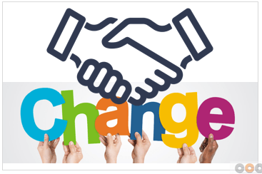 Who is the Sponsor of the change?