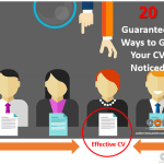 20 Guaranteed Ways Recruiters Will Notice Your CV