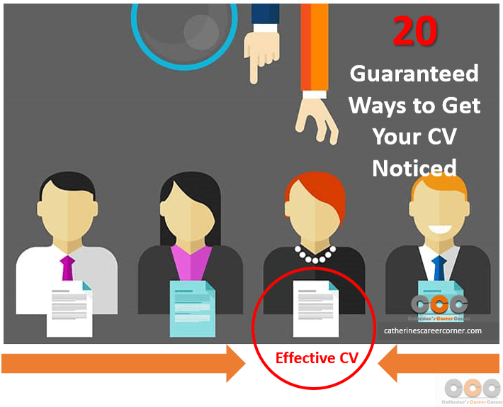 20 Guarnteed Ways to Get Your CV Noticed by Recruiters