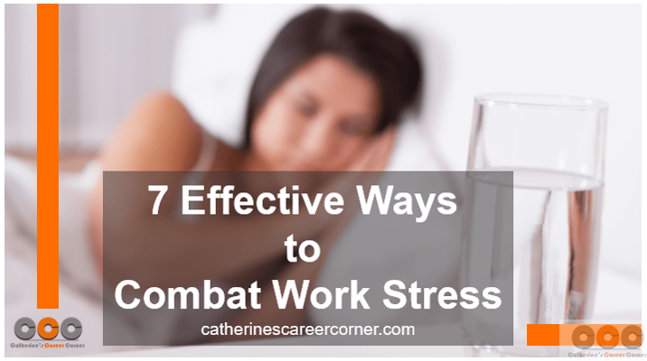 Effective ways to deal with work stress
