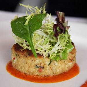 home delivered menu crabcakes