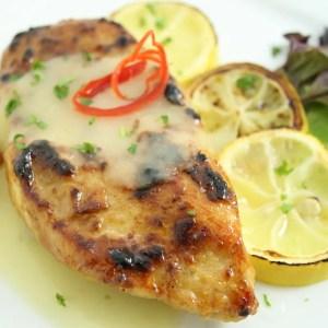 home delivered menu lemon honey chicken