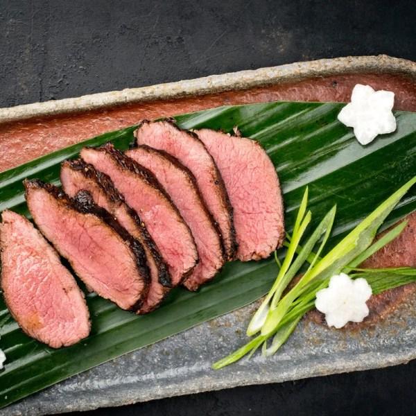 home delivered meals steak with leeks