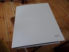 Plain white folder to start with