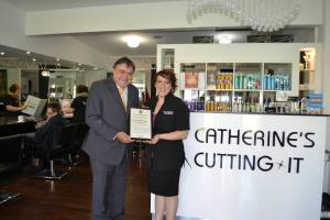 Community award to Catherines Cutting It