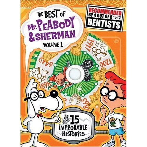 Mr. Peabody and his pet boy Sherman