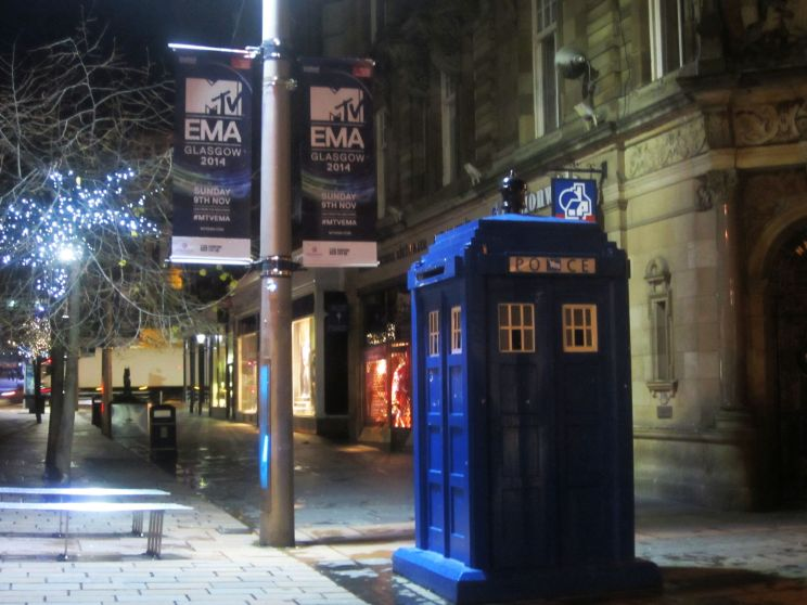 Loved this view. Like a tardis in the city centre:)