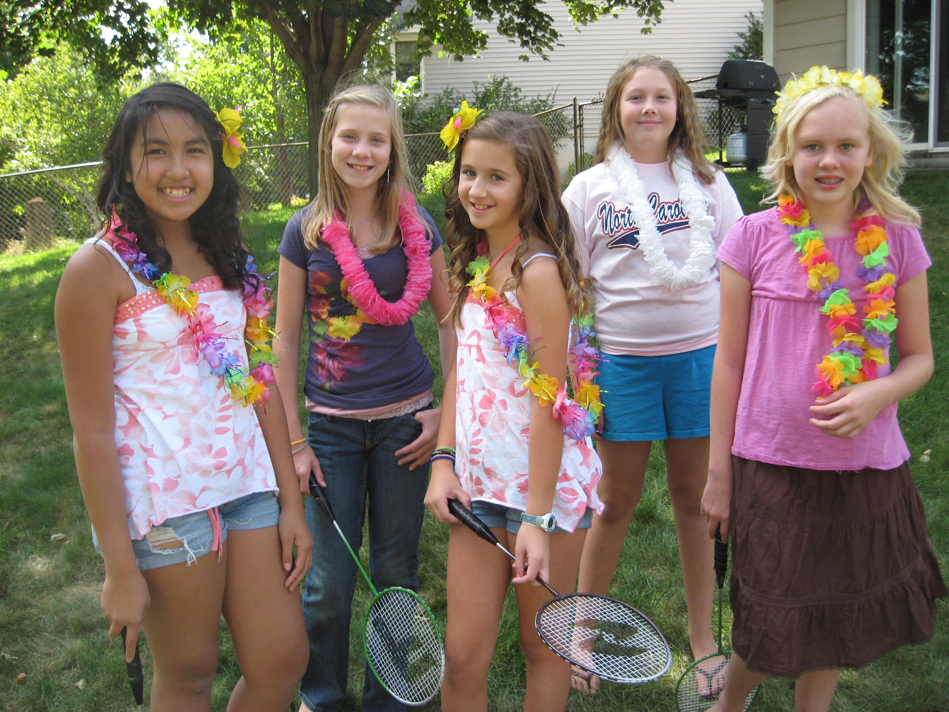 6th Graders In Bikinis