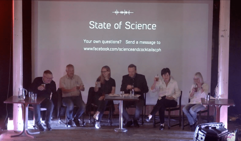 State of the Climate panel debate in Copenhagen Denmark.
