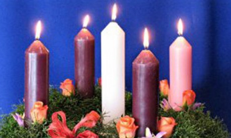 advent candles and wreath cathnews nz pacific cathnews. Black Bedroom Furniture Sets. Home Design Ideas