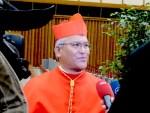 Cardinal cancels Rome visit