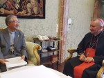 South Korea seeks, gets Vatican support with North