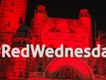 #Red Wednesday – lighting up for persecuted Christians