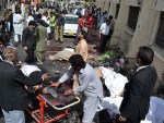 Suicide bombers attack congregation at Pakistani church