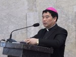 Chinese Catholic bishop willing to stand down