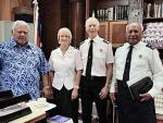 Salvation Army starts a mission in Samoa