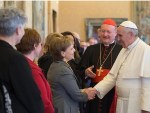 Female leaders speak positively of pope and church